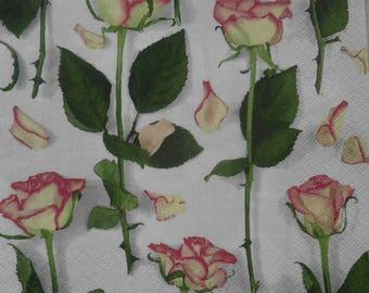 128 pink paper towel