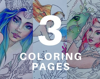 Mandala Coloring Pages Adults Printable : Sea life mandala coloring pages printable mandalas