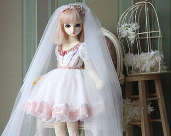 Wish, dress set for Rosenlied holiday / MSD girl