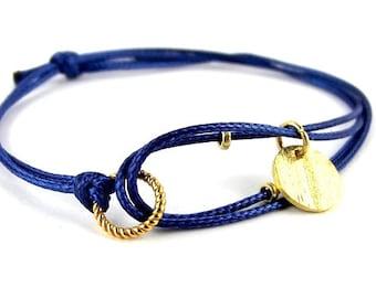 engraved bracelet sterling silver GOLD