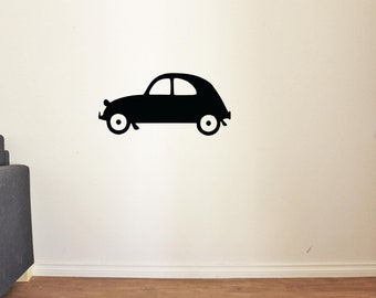 Baby Car Wall Decal for Nursery Boy Room Decor Vinyl Stickers MK0033