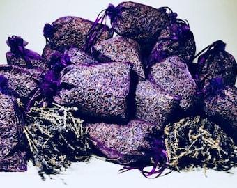 10 organic Lavender sachets