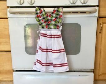 Hanging Kitchen Dressy Towel, Kitchen Hand Towel, Tea Towel