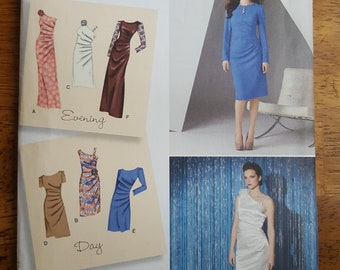 Simplicity 2053 Evening & Day Dress in Two Lengths Sewing Pattern Size Misses' 6-14