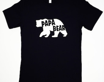 Papa Bear Shirt, Dad Shirt, Grandfather shirt, Gift, Birthday Gift, Father's Day, Valentine's Day Gift