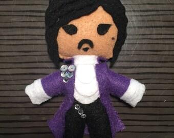 Prince Felt Doll
