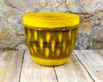 Mid Century Modern Pottery Planter from Italy
