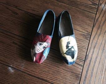 Ariel Painted Toms
