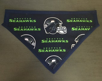Seattle Sea Hawks Dog Scarf
