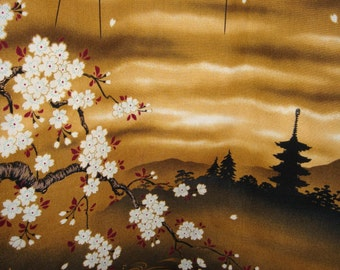 Tote The Big/Market/Gym Bag ~ Over sized Golden Kimono Fabric