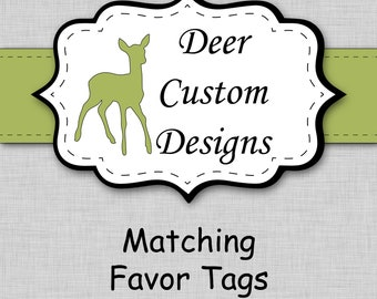 Matching Favor Tags