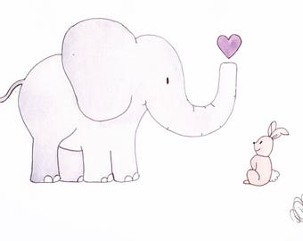 Elephant and Rabbit Friends Pt.1