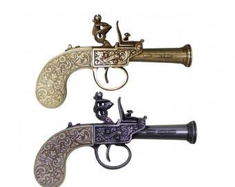 1798 English Flintlock Pocket Pistol