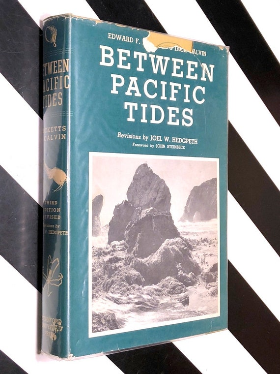 Between Pacific Tides by Edward F. Ricketts and Jack Calvin, 3rd Edition Revised (1966) hardcover book