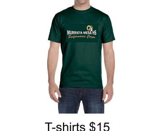 MMHS Performance Corps -  MEN - SHORT Sleeve T-shirt