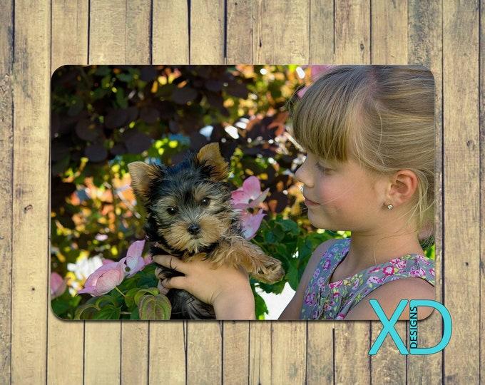 Custom Pet Mat, Photo Mat, Non-Slip, Kitchen Decor, Personalized, Gift For Pet Lover, Pet Feeding, Puppy Mat, Dog, Cat, Animal Gift