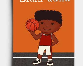 Slam Dunk - Birthday Card