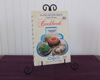 The Philadelphia Brand Cream Cheese Cookbook, Vintage Cookbook, 1981