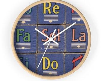 Do Re Mi Wall Clock