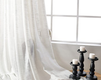 modern tulle children girl kid sheer curtain linen item embroidered window star room bedroom white cartoon curtains