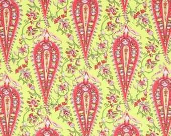 AB47 Lime Amy Butler Fabric Love - Cypress Paisley