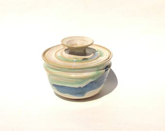 Coffee Filter Storage Jar - Rio Grande Glaze