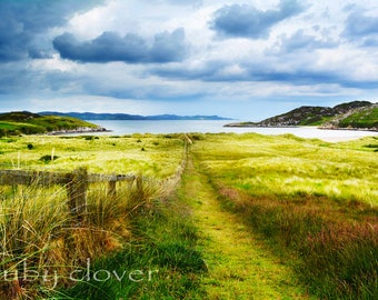 Five Finger Strand, DONEGAL, Irish Landscape, IRELAND Photography, Beautiful Clouds,Beach in Ireland, INISHOWEN,Serene Landscape, Ocean View