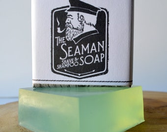 Shaving Soap & Shampoo Bar