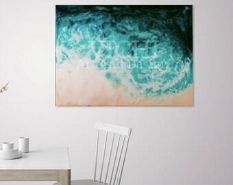 ocean,resin art,epoxy art,prints, wave,sea,design,art,