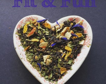 Fit & Fun - 85 Grams Pu-Erh-Mate-Tea-Skinny Tea- Weight-Loss-diet-fat-loss-energy-Luxury-Loose-Leaf-natural-antioxidant-gift for her
