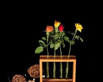"""Test tube vase floating """"Tømmer"""":"""
