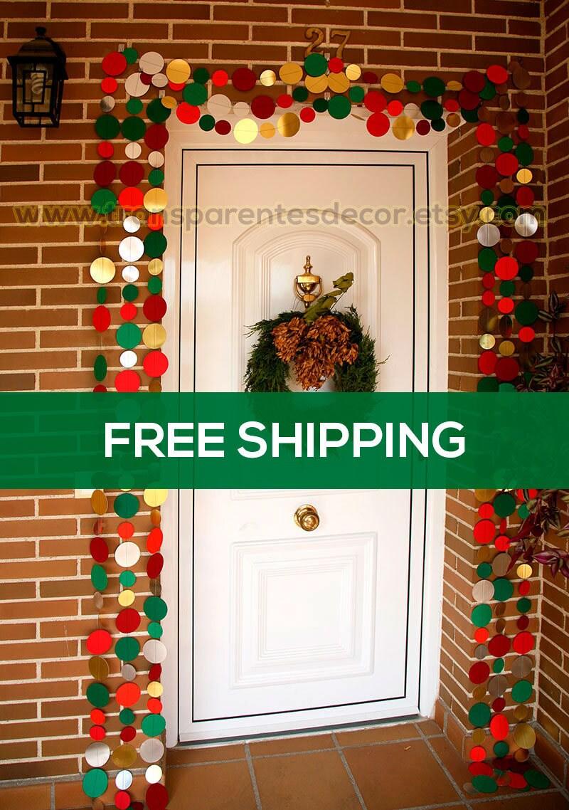 Weihnachtsschmuck Tür Weihnachten Kranz
