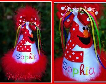 Custom Lisitng for adouglas241,  Custom Colors Elmo Hat