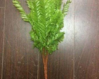 Green Artificial Leaf Wedding Greenery #4 Dusty Miller