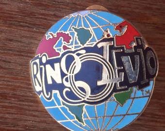 Ringolevio World Pin, Free Shipping