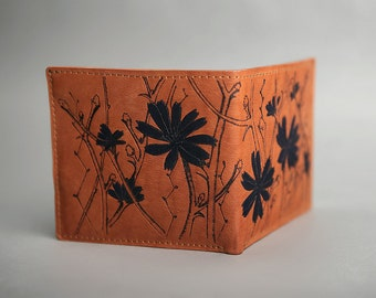 Leather Wallet «Chicory»