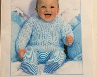 Baby Knitting Pattern Book. Knitted Cardigan. Knitted Dress. Preemie Knitting Pattern. Toddler Knitting Pattern. 12 Designs