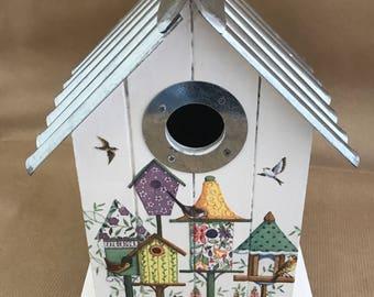 Bird House Nesting Box