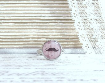 Shabby Chic Ring Clearance Jewelry Moustache Ring Clearance Ring Adjustable Ring Clearance Sale
