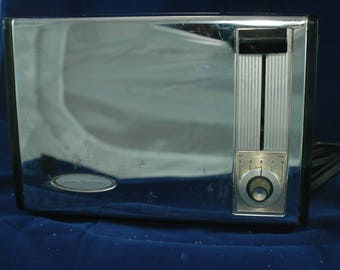 1960s Chrome GE Toaster Model 16T142