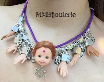 Barbie & Kelly Charm Necklace