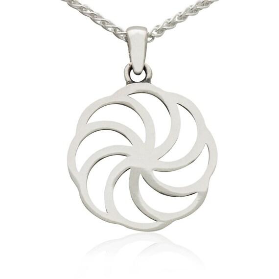 Sterling Silver Armenian Eternity Symbol Pendant