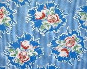 1950's vintage blue a...
