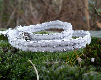 """Arwen-Lord of the Rings"" bracelet-bracelet hand made-by HeddleWeaving"
