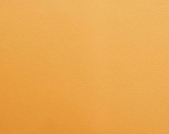Sheet of thick leather - apricot color