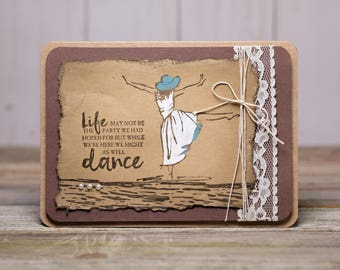 Might as well Dance Card