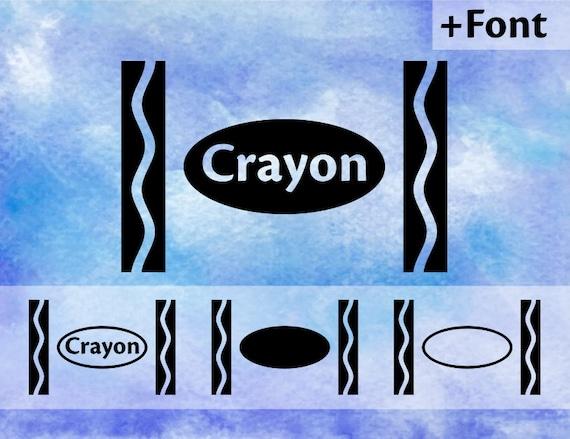 Crayon Svg Crayola Svg Crayon Wrapper Svg Art Svg Art