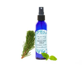 Peppermint Foot Spray - Foot Spray - Natural Foot Spray - Deodorizing Foot Spray - Peppermint Spray - Tea Tree & Peppermint - Personal Care