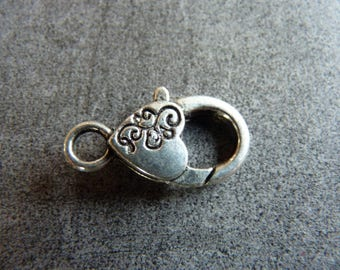 Large very decorative Metal clasps