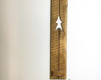 Primitive star decor up-cycled reclaimed